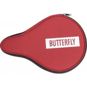 Θήκη Πινγκ-Πονγκ Σχήμα Ρακέτας Butterfly Logo Red