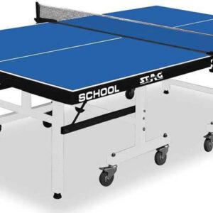 Τραπέζι Πινγκ-Πονγκ Stag School 19mm Μπλε