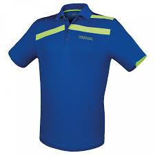 Μπλούζα Πινγκ-Πονγκ Tibhar Stripe Μπλε/Πράσινη