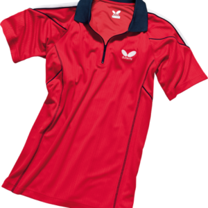 Butterfly Kuji Table Tennis Shirt Red