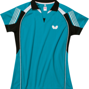 Butterfly Nash Lady Table Tennis Shirt Blue