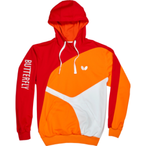 Butterfly Ryo Table Tennis Hoody Red