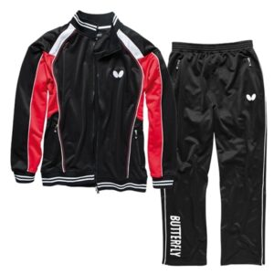 Butterfly Nash Table Tennis Tracksuit Black