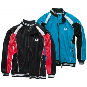 Butterfly Nash Table Tennis Jacket Black