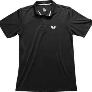 Butterfly Bamboo Table Tennis Shirt Black