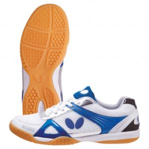 Παπούτσια Πινγκ-Πονγκ Butterfly Lezoline Trynex Άσπρο/Μπλε
