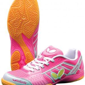 Παπούτσια Πινγκ-Πονγκ Butterfly Lezoline Sonic Ροζ