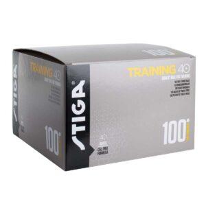 Μπαλάκια Πινγκ-Πονγκ Stiga Training  ABS 40+ 100τμχ Πορτοκαλί