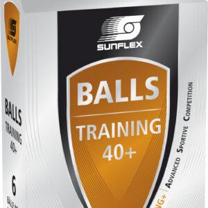 Μπαλάκια Ping Pong Sunflex Training PVC 6 Τεμάχια