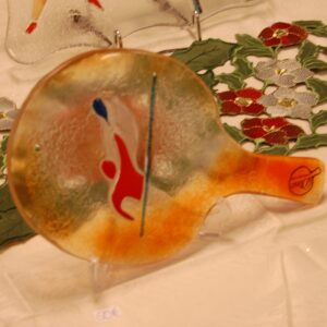 TABLE TENNIS RACKET MADE OF GLASS