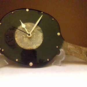 TABLE TENNIS RACKET WATCH MADE OF GLASS