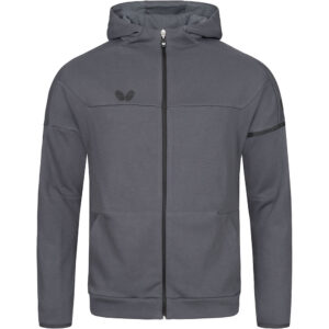 Butterfly Ikeda Table Tennis Jacket Anthracite