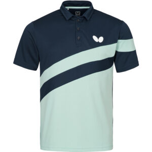 Butterfly Kisa Table Tennis Shirt Ice Blue