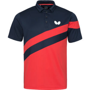 Butterfly Kisa Table Tennis Shirt Red