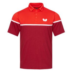 Μπλούζα Πινγκ-Πονγκ Butterfly Kosay Κόκκινη/Πορτοκαλί