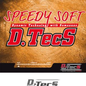 Λάστιχο Πινγκ-Πονγκ Tibhar Speedy Soft D.Tecs