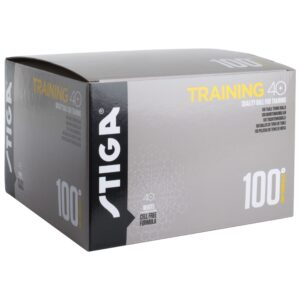 Μπαλάκια Πινγκ-Πονγκ Stiga Training ABS 40+ 100τμχ Λευκά
