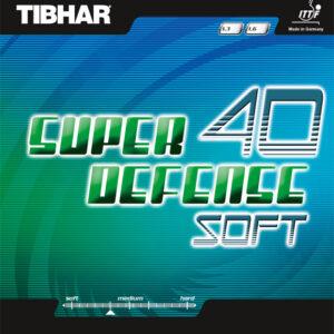 Λάστιχο Πινγκ-Πονγκ Tibhar Super Defense 40 Soft
