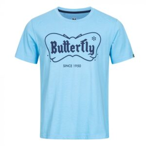Μπλούζα Πινγκ-Πονγκ Butterfly 70th Anniversary Retro Γαλάζια