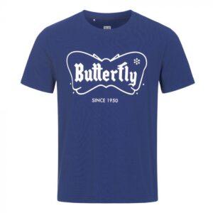 Μπλούζα Πινγκ-Πονγκ Butterfly 70th Anniversary Retro Μπλε