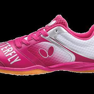 Παπούτσια Πινγκ-Πονγκ Butterfly Lezoline Groovy Ροζ