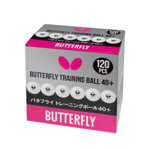 Μπαλάκια Πινγκ-Πονγκ Butterfly Training R40+ 120τμχ